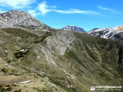 Montaña Leonesa Babia;Viaje senderismo puente; aneto camping selva irati nudos montaña foros monta